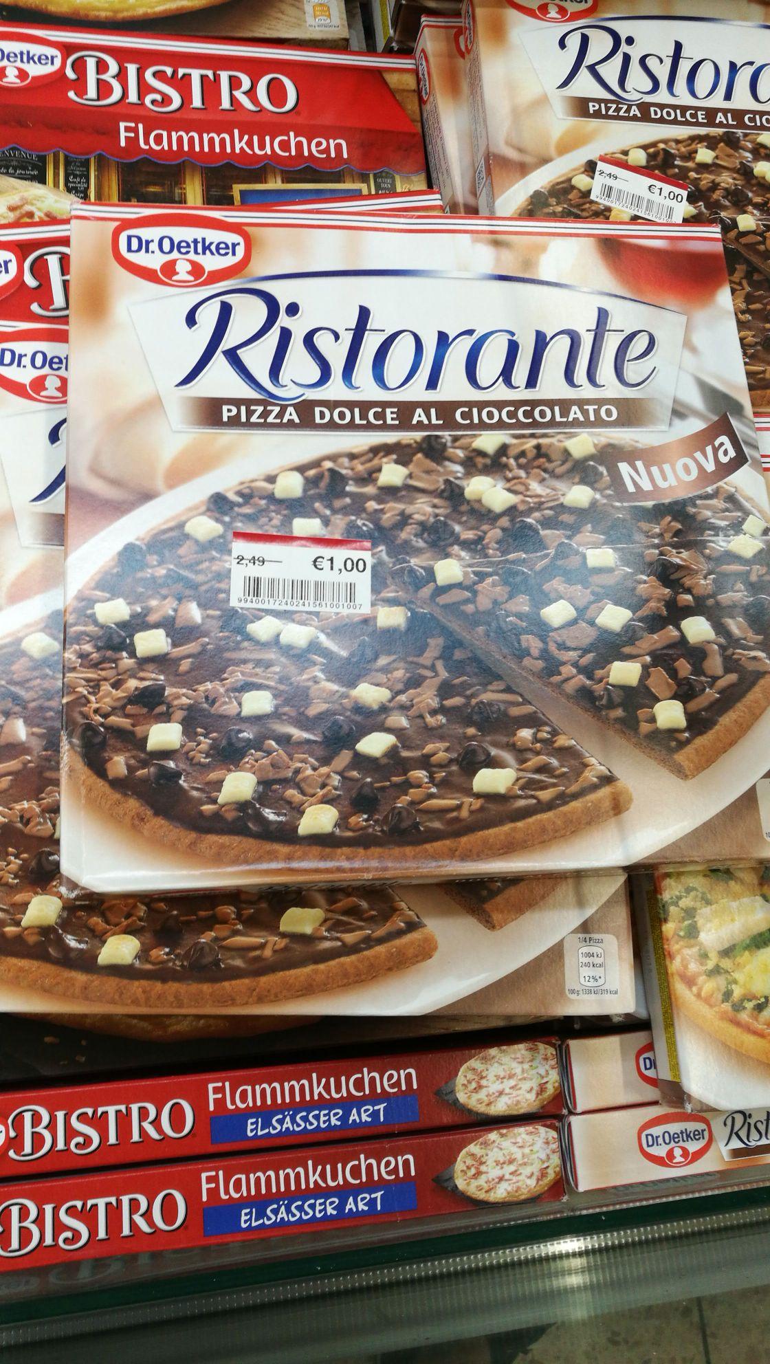 Dr. Oetker Ristorante  (Schokoladenpizza) für 1€ (real Düren)