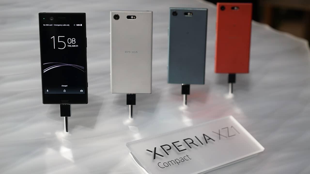 Sony XPERIA XZ1 Compact G8441 32GB Midnight Black Schwarz Ohne Simlock NEU für 319,59€