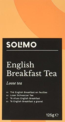 Amazon Marke - Solimo - Loser English Breakfast Tea (Schwarzer Tee) - 6er Pack (6 x 125gr)