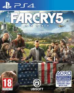 Far Cry 5 (PS4/Xbox One) für 37,17€ (Game.co.uk)