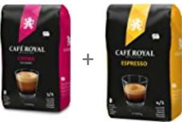 Café Royal Crema Bohnenkaffee 1kg, Crema für  5,79 €, Espresso für 5,85 € @ amazon Sparabo