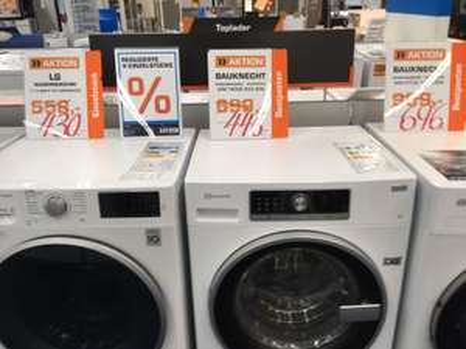 Saturn Hamburg: Waschmaschinen von bis zu 40% reduziert - Bosch, Samsung, Bauknecht, Siemens