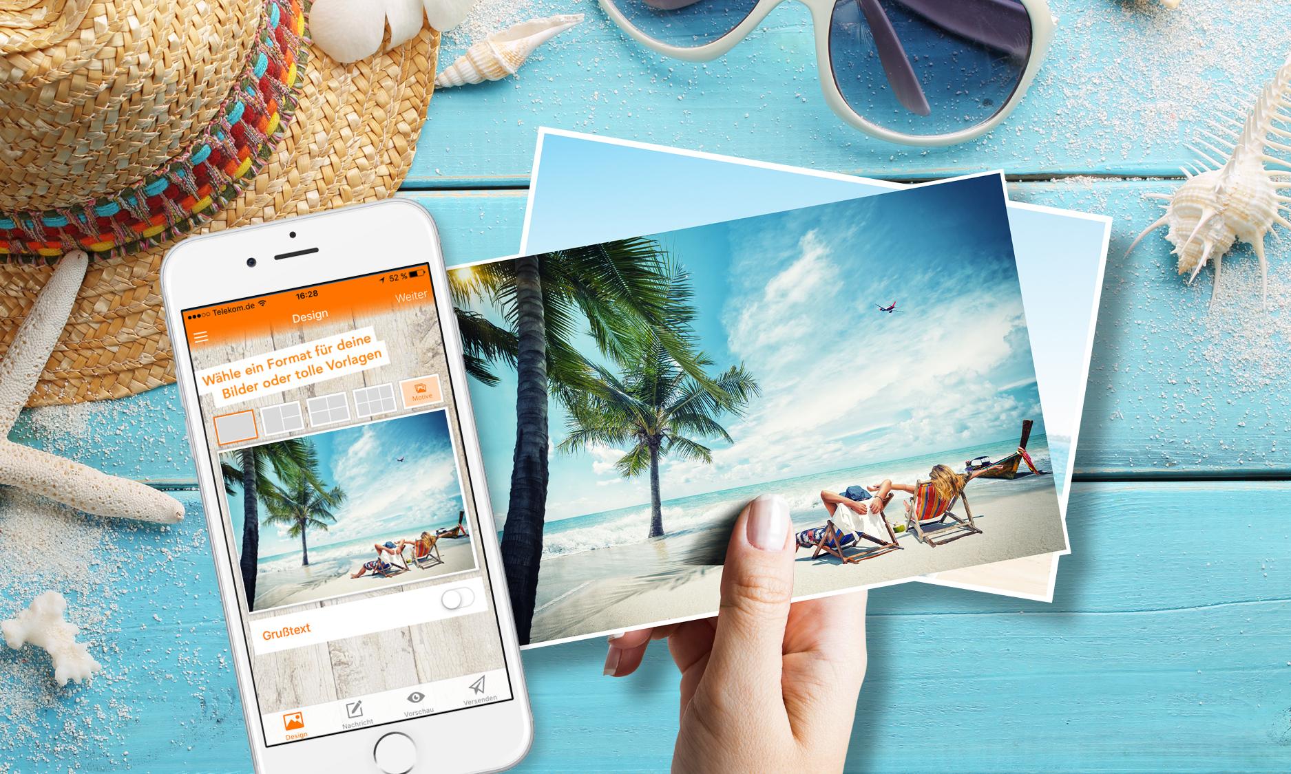 Postkarten Postando App (IOS & Android) - Eigene Fotos versenden für 0,79€