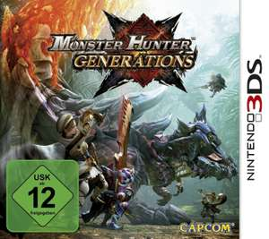 Monster Hunter: Generations (3DS) für 14€ versandkostenfrei (Media Markt)