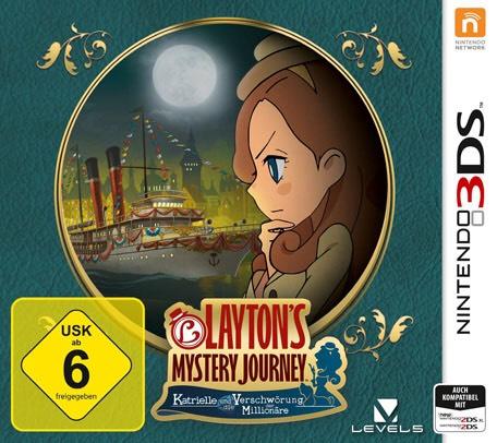 Layton`s Mystery Journey: Katrielle und die Verschwörung der Millionäre /Nintendo 3DS / Media Markt / AMAZON / Online / Abholung / Versandkostenfrei /UPDATE