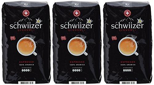 [Amazon] Schwiizer Schüümli Espresso Ganze Kaffeebohnen 3x500g für 11,23€ (7,48€ kg) - Sparabo 10,48€ (6,98€ kg)