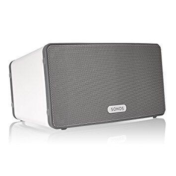Sonos PLAY:3 Lautsprecher in weiß u. schwarz (Amazon)