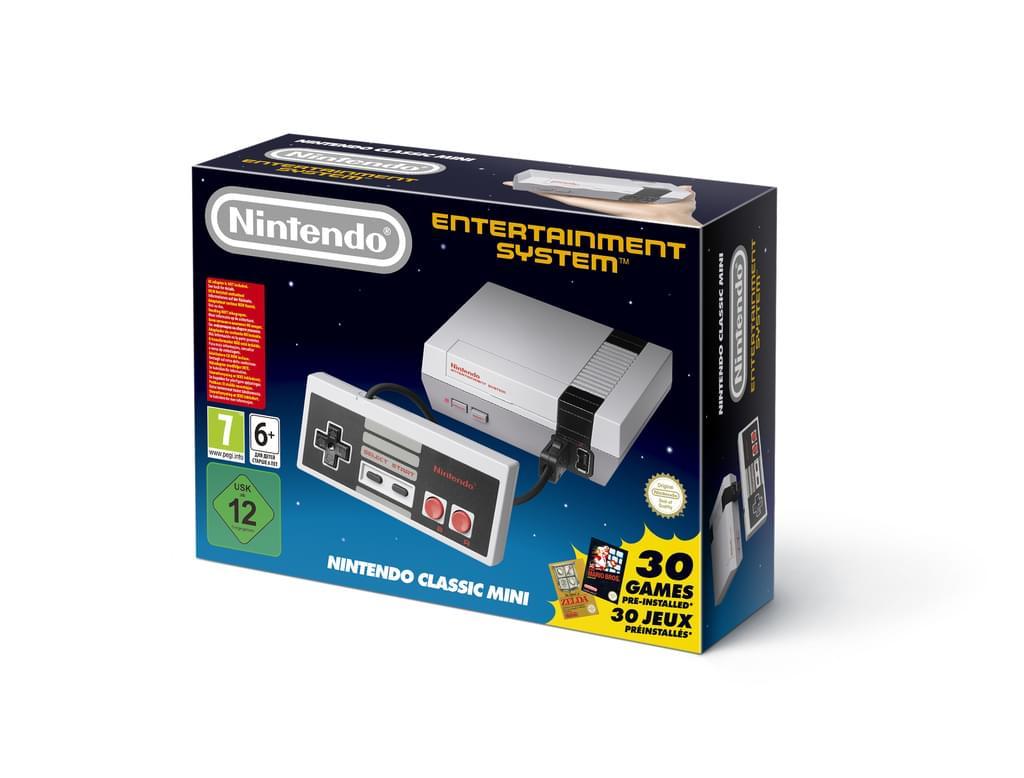 Nintendo Classic Mini für 69.99€ inkl. Versand (Real.de) + 34 Payback Punkte