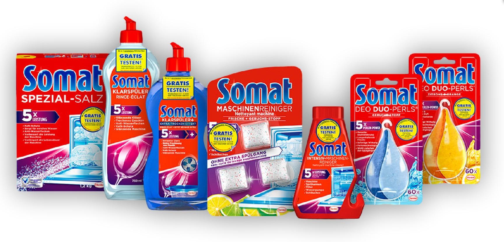 [GzG] Somat Zusatzprodukte bis zu 3 Stück gratis testen