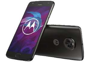 Motorola Moto X4 32GB / 3GB Ram / 5,2 Zoll / Dual Sim - Super Black o. Sterling Blue für 199,99€ inkl. VSK [Saturn & Amazon]