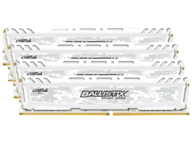Crucial Ballistix Sport 16GB Kit DDR4-2400 (4x 4GB) für 135€ (Media Markt)
