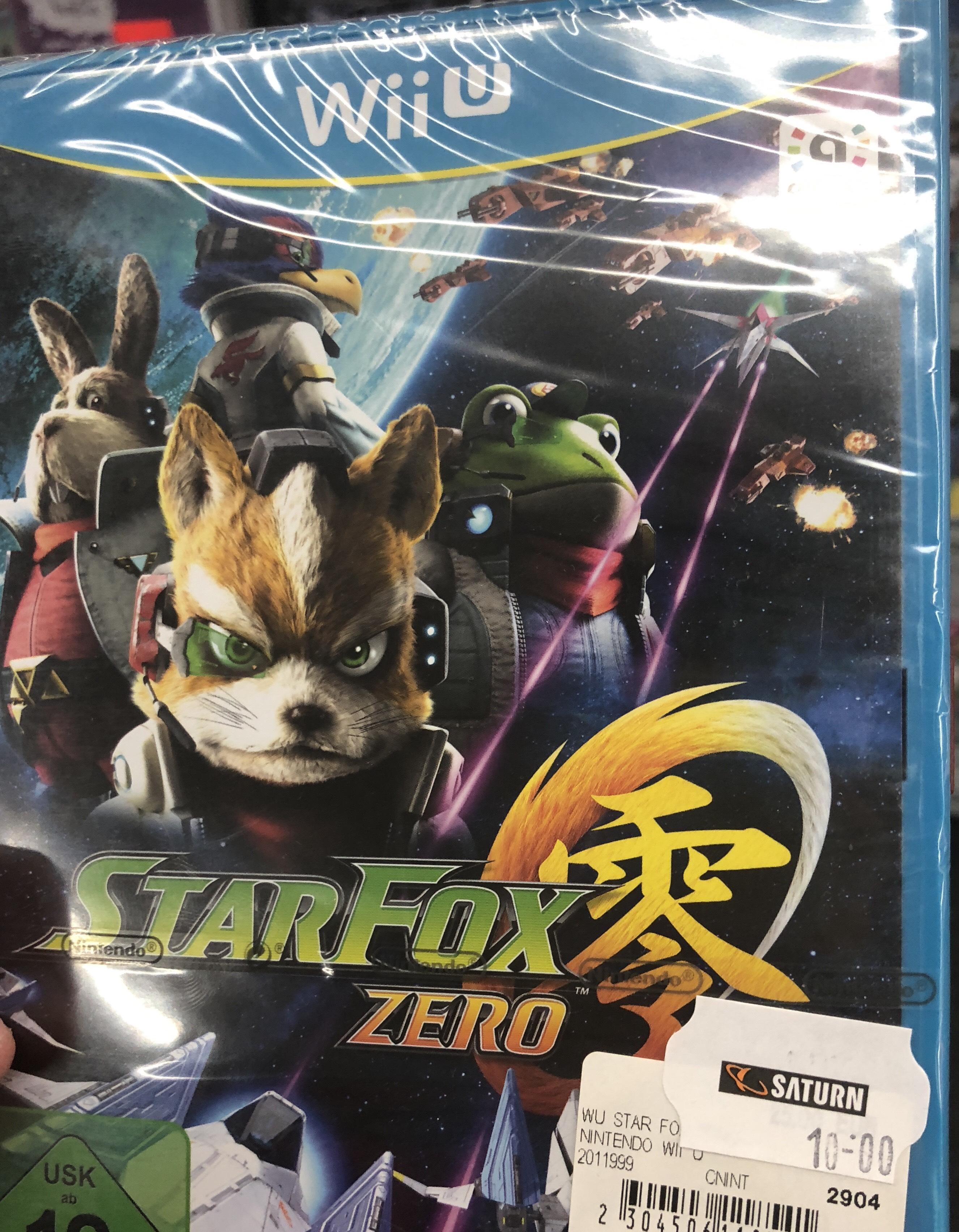 Star Fox Zero - WiiU - / 10 € / Saturn Moers / LOKAL