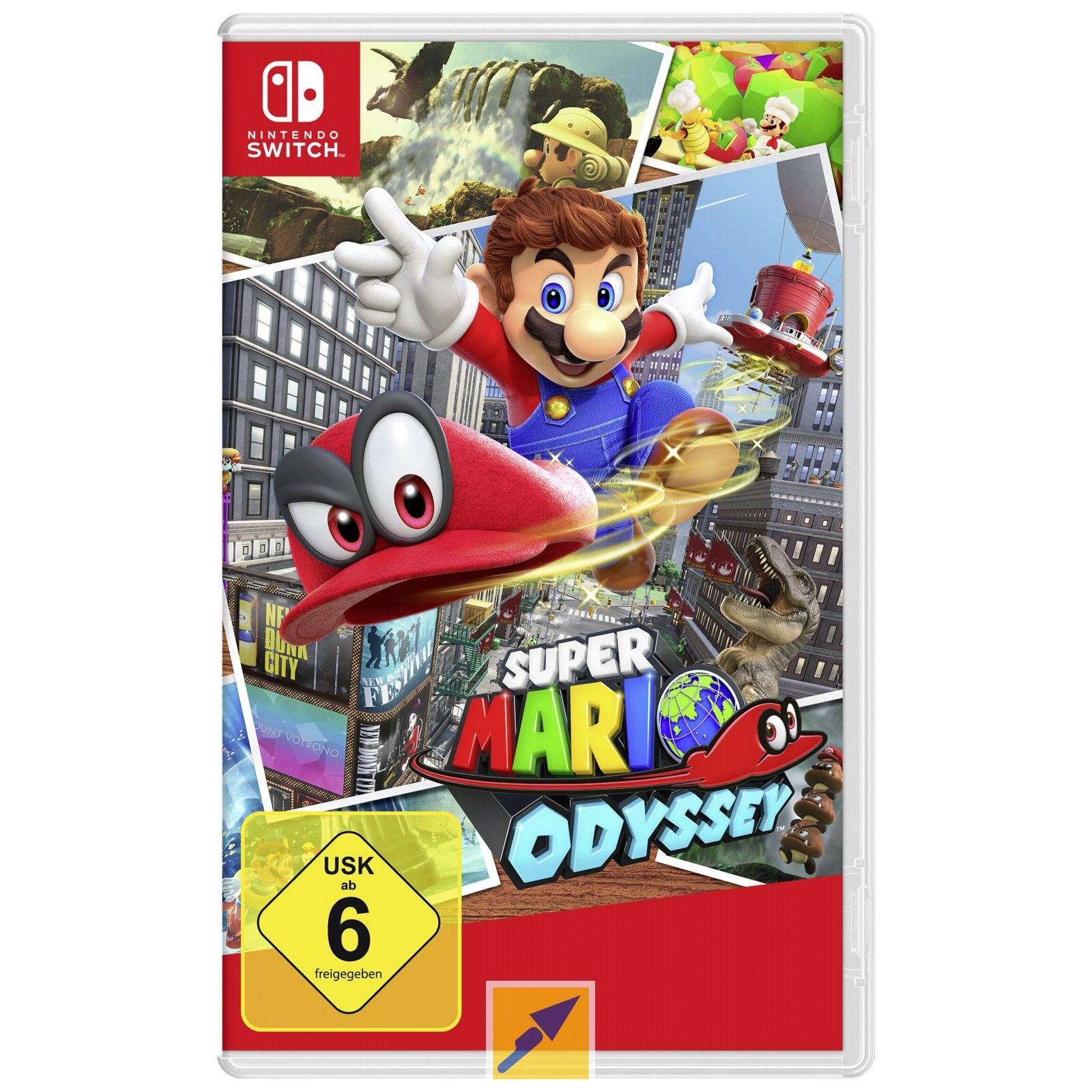 Super Mario Odyssey (Switch) für 31,09€ inkl. Versand [Technikdirekt+Masterpass]