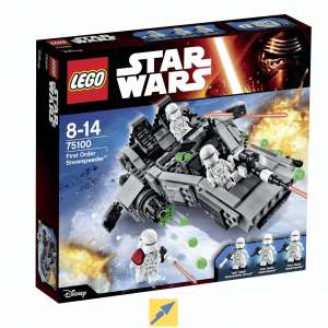 (TECHNIKdirekt) LEGO Star Wars 75100 First Order Snowspeeder mit MASTERPASS (MC/VISA)
