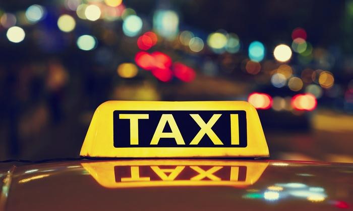 83% auf Wertgutschein für Taxi/Großraumwagen