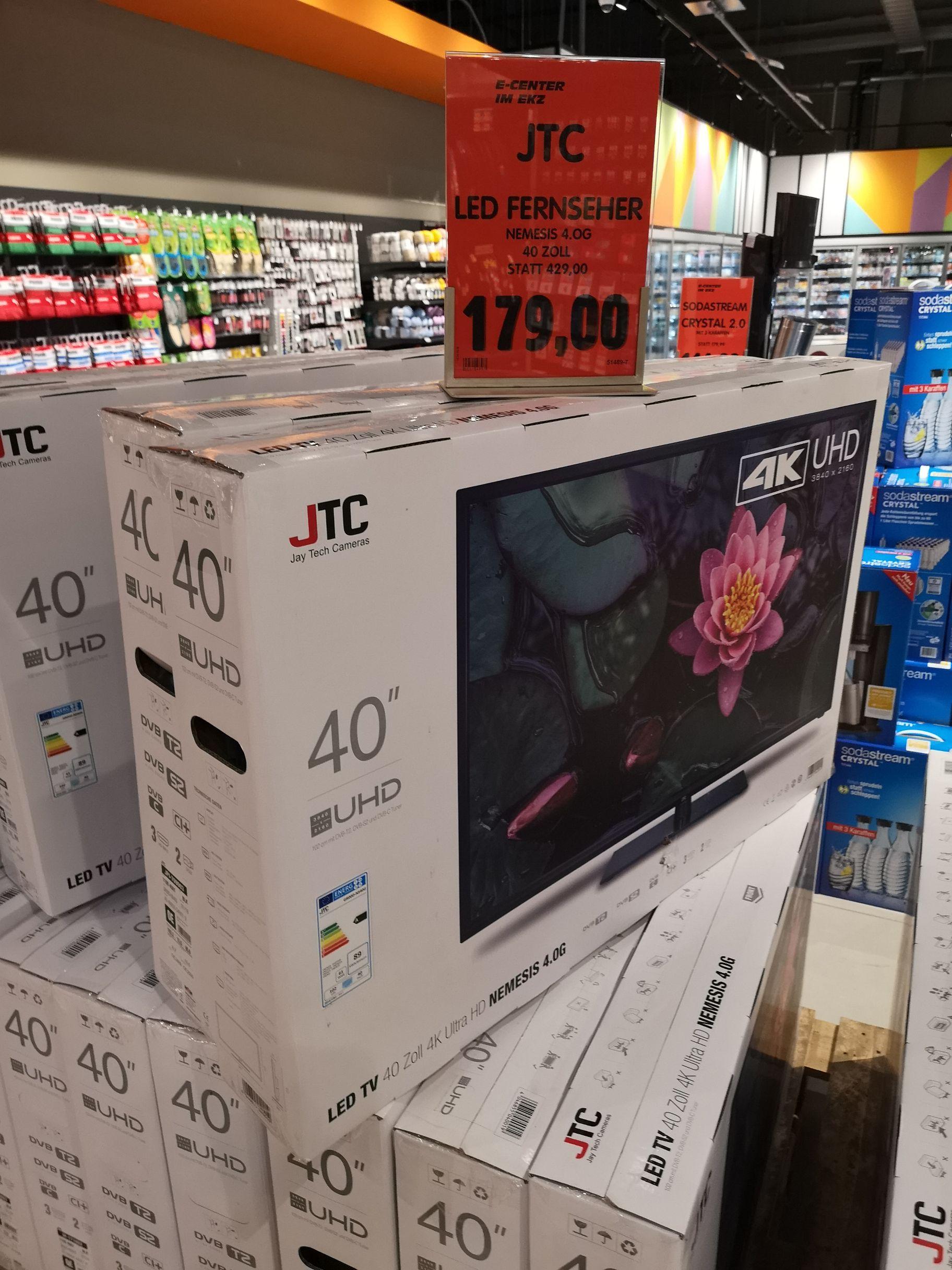 [Lokal Krefeld] JTC 40 Zoll UHD TV NEMESIS 4.0G