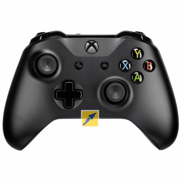 [Masterpass-Technikdirekt] Microsoft Xbox One Controller schwarz für 25,84€