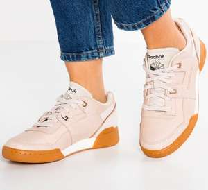 Reebok Classics Damen Workout Lo Plus Golden Neutrals Sneakers Ecru (Gr. 37-42,5)