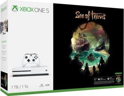 Xbox One S 1TB + Sea of Thieves für 188,26€ [Amazon.es]