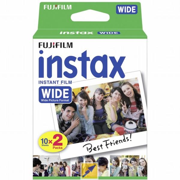 3x Sofortbildfilm Doppelpack Fujifilm Instax Film wide [Technikdirekt+Masterpass]