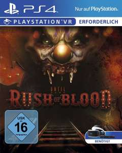 Until Dawn:Rush of blood (PS4) (Lokal HH Saturn EEZ)