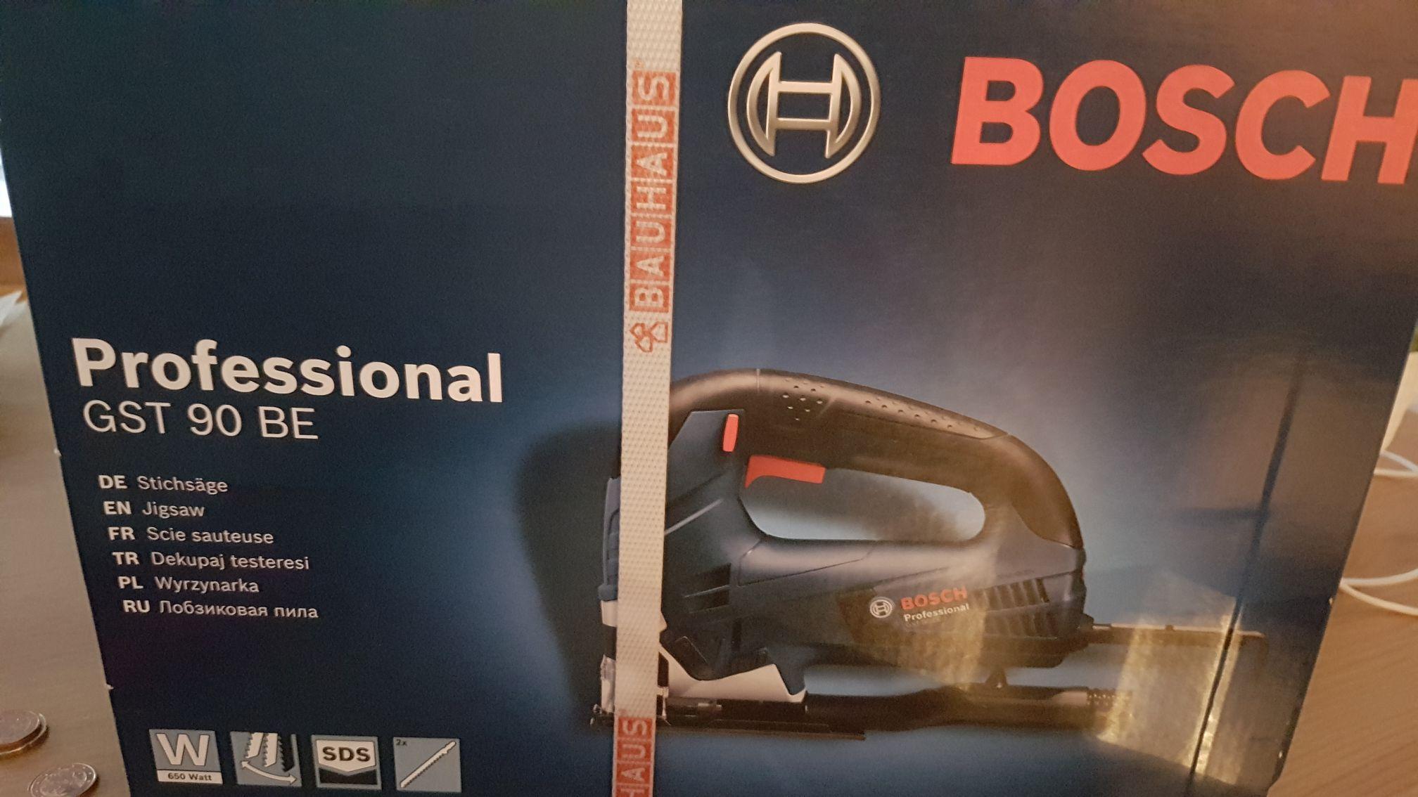 @Bauhaus offline TPG - Stichsäge Bosch GST 90 BE Professional (im Koffer)