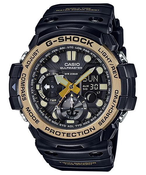 [Amazon.de] Casio G-Shock Gulfmaster GN-1000GB-1AER Herren-Armbanduhr mit Kompass und Thermometer