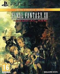 Final Fantasy XII: The Zodiac AgeLimited Steelbook Edition (PS4)