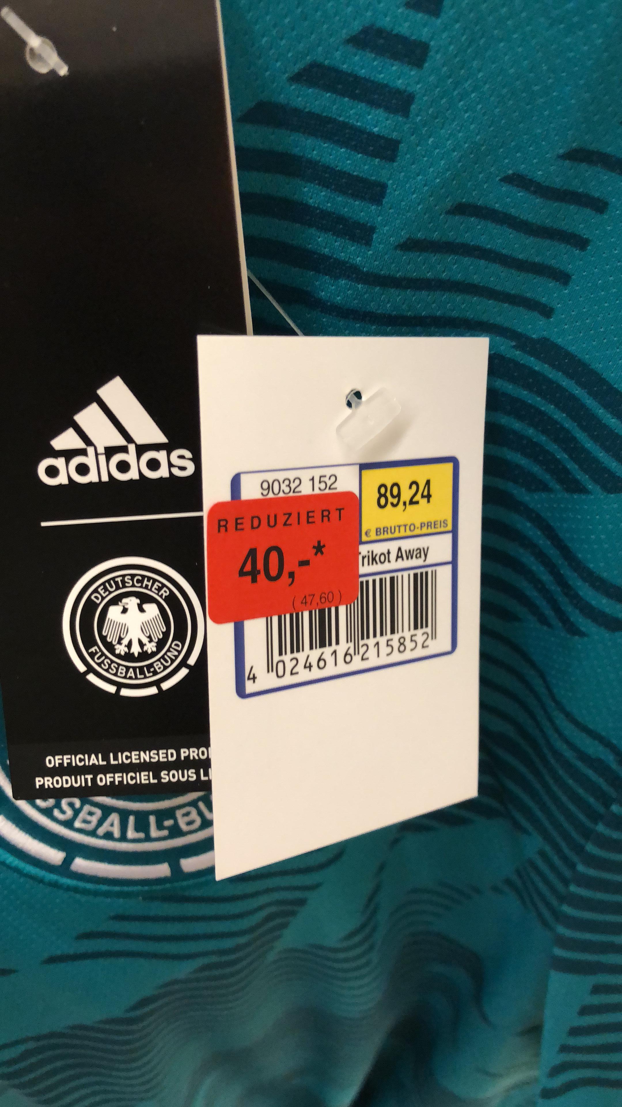Original Adidas Deutschland Trikots @ Metro Dortmund