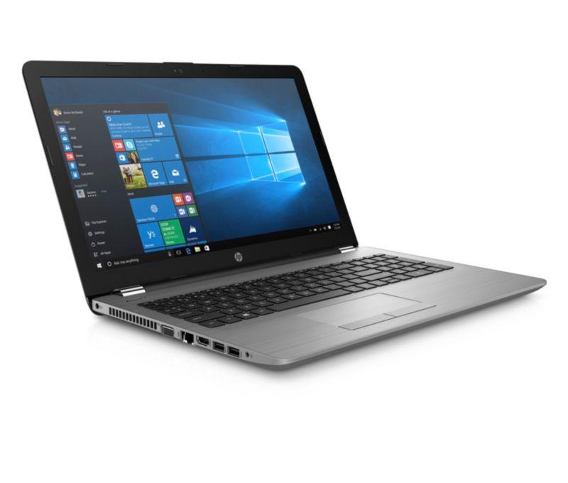 HP 250 G6 silber, Core i3-6006U, 8GB RAM, 256GB SSD, DVD-RW, 15,6 Zoll Full-HD, Windows 10