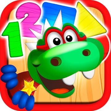 [Google Playstore] Dino Tim: Spiele Formen Farben