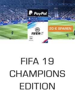 Fifa 19 Champion Edition (PS4) mit Paypal