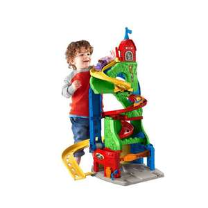Fisher-Price Mattel DFT71 - Little People Hochhausrennbahn