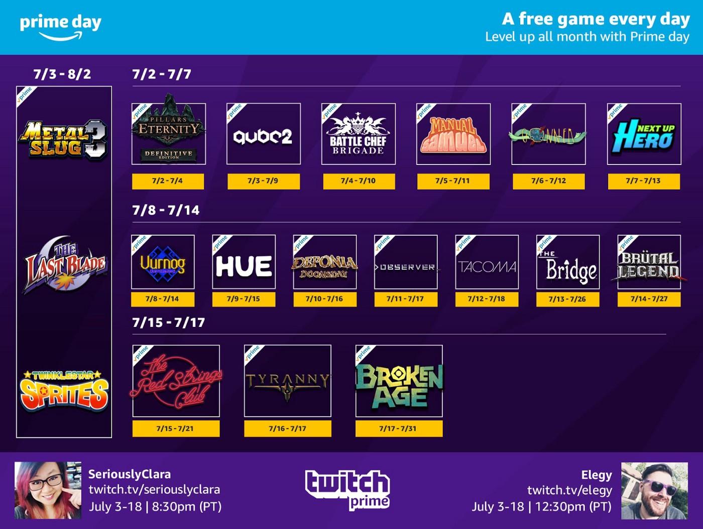 [Twitch Prime] Pillars of Eternity kostenlos bis morgen + weitere Spiele im Laufe des Monats