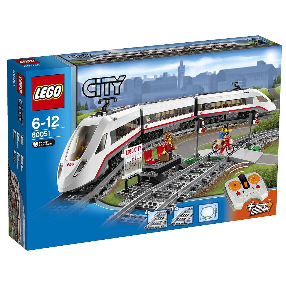 LEGO City - Hochgeschwindigkeitszug 60051 für 79,98€ mit Paypal oder Sofortüberweisung