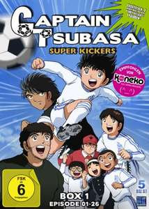Captain Tsubasa: Superkickers 2006 Episoden 01-26 (5 Disc Set DVD) für 39,97€ (Amazon)