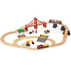[Toysrus] BRIO - Großes City- & Frachten-Set