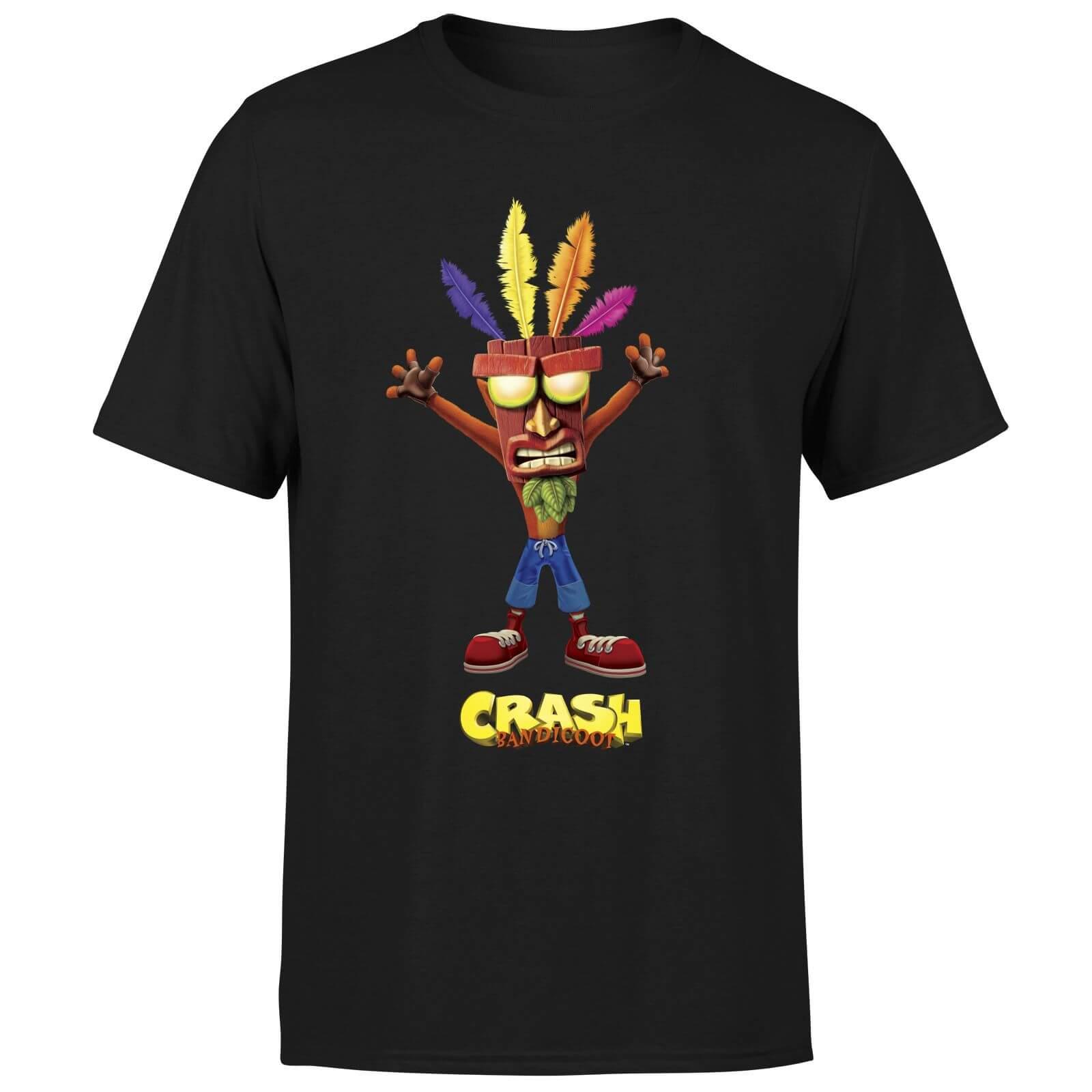 Crash Bandicoot - Aku Aku Herren T-Shirt für 10,99€ (MyGeekbox)