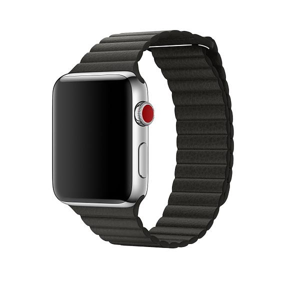 [Microspot CH] Auswahl an Original Apple Watch Lederarmbänder für 16,49€