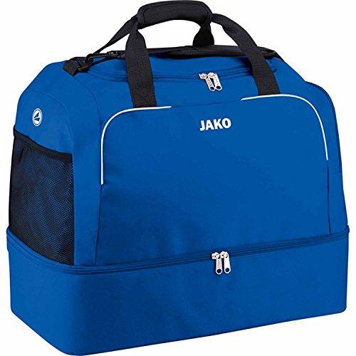 JAKO Sporttasche Classico mit Bodenfach, 60 cm, 80 L, Royal, für nur 14,95
