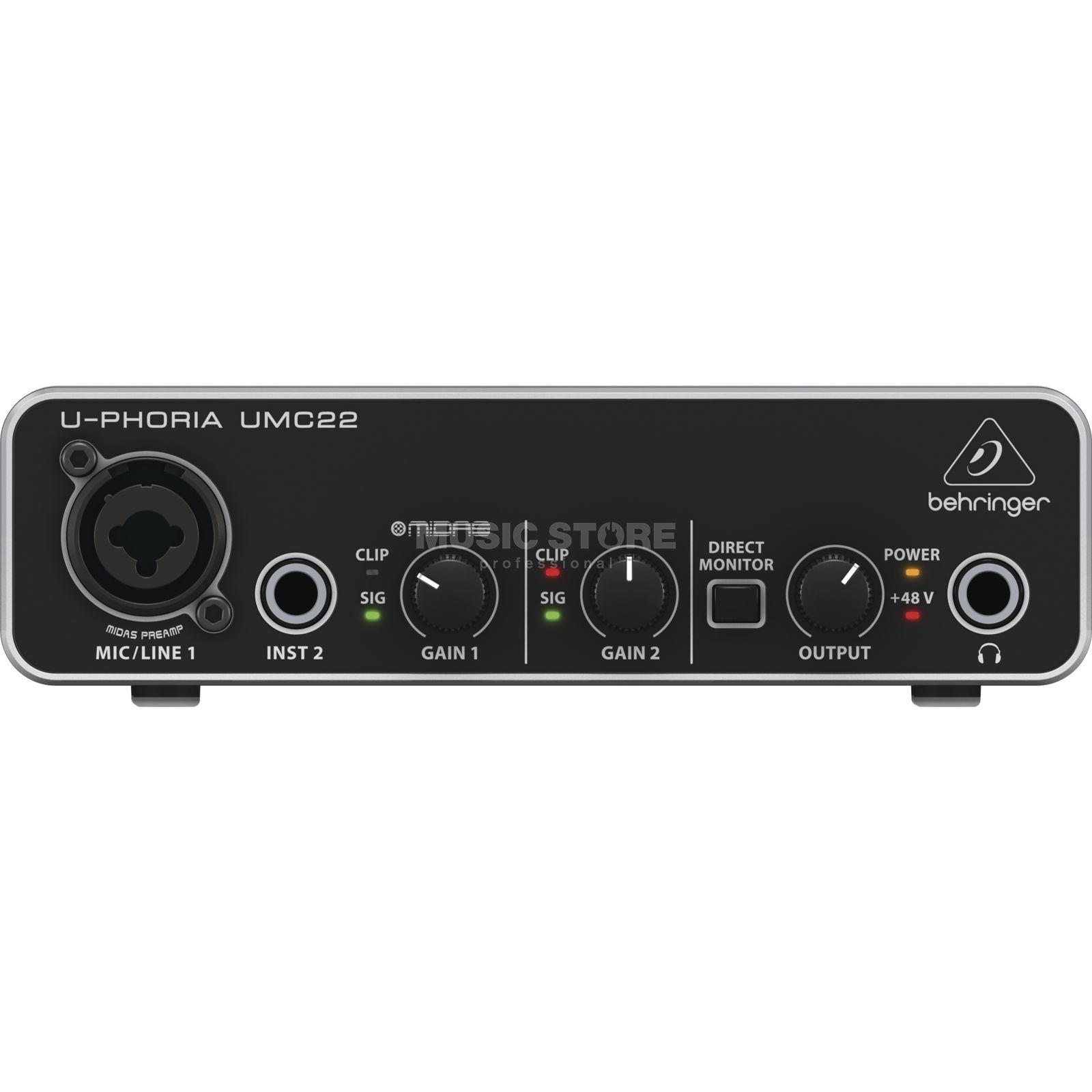 Behringer U-Phoria UMC22 - USB Audio Interface