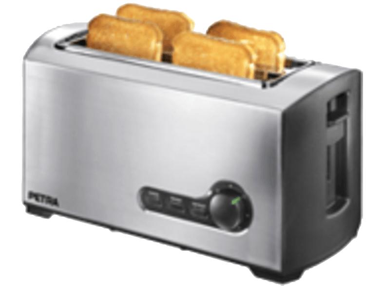 [MEDIAMARKT ONLINE] PETRA TA 521.35 Toaster Silber/Schwarz