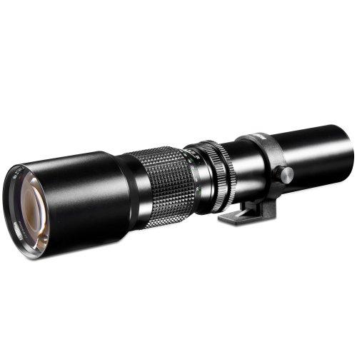 [Amazon WHD] Walimex 500mm F/8 Objektiv für Sony E-Mount Vollformat/APS-C (Sony Alpha 7, Alpha 9, Alpha 6000)