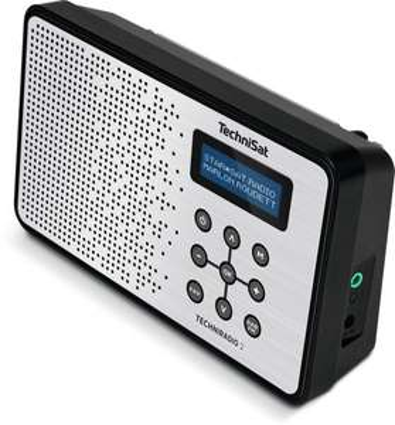 Digitalradio TechniSat Techniradio 2 (DAB, DAB+, UKW, 3.5mm, Batterie- oder Netzteilbetrieb)