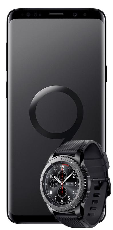Samsung S9+ DUAL & GEAR S3 FRONTIER Mobilcom-Debitel Vertrag (MediaMarkt)