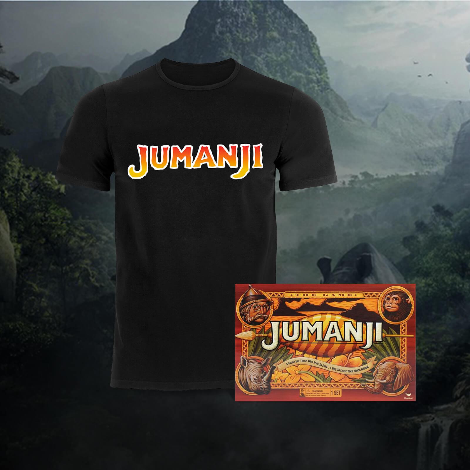 Jumanji Brettspiel + T-shirt für 20,35€ (Zavvi)
