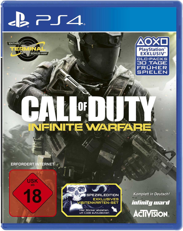 Call of Duty: Infinite Warfare (PS4) für 9,99€ versandkostenfrei (Saturn)
