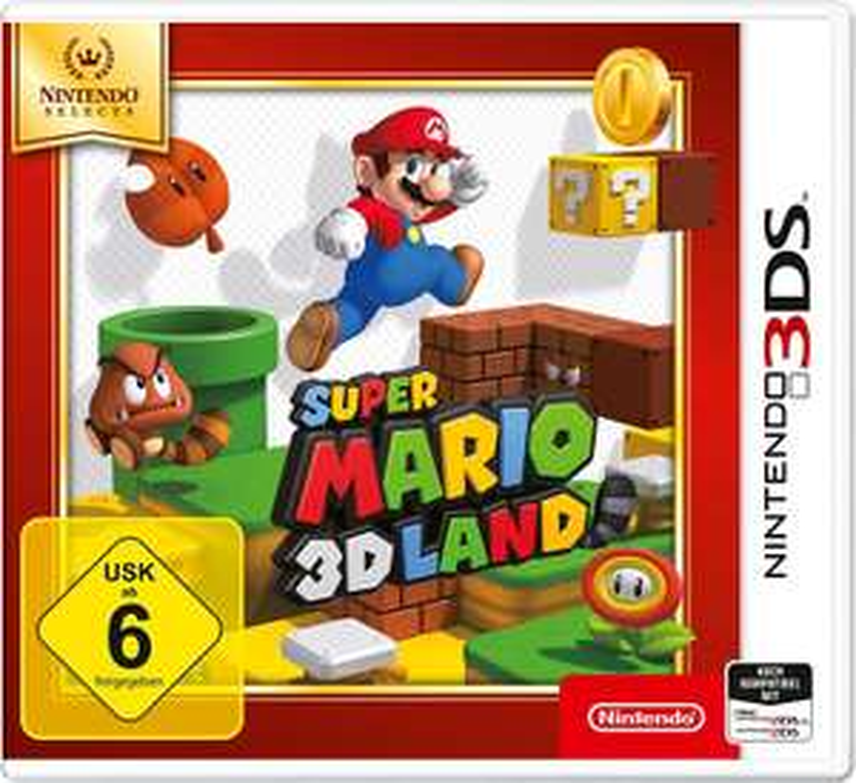Super Mario 3D Land (3DS) für 15€ versandkostenfrei (Media Markt & Amazon Prime)
