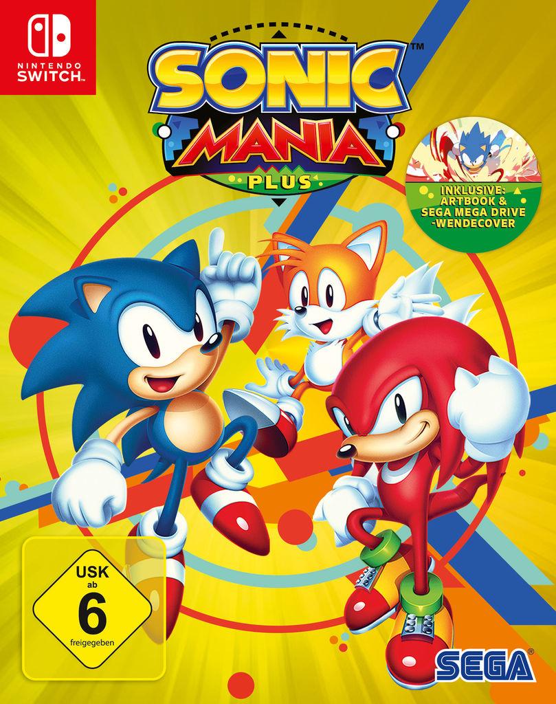 Nintendo Switch / PS4 / Xbox One - Sonic Mania Plus [als Prime Mitglied + AMAZON Assistant]