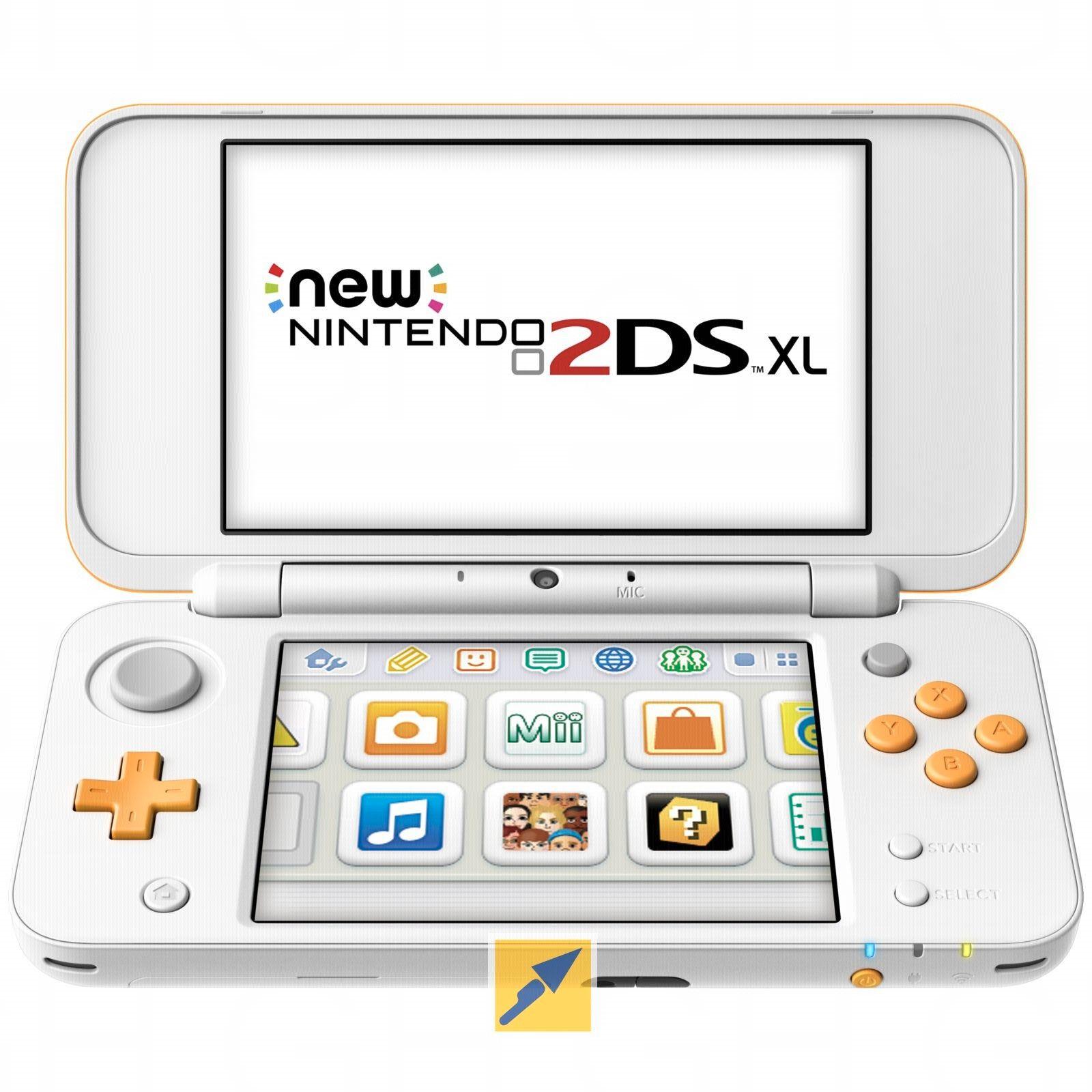 [TECHNIKdirekt+Masterpass] New Nintendo 2DS XL weiß orange